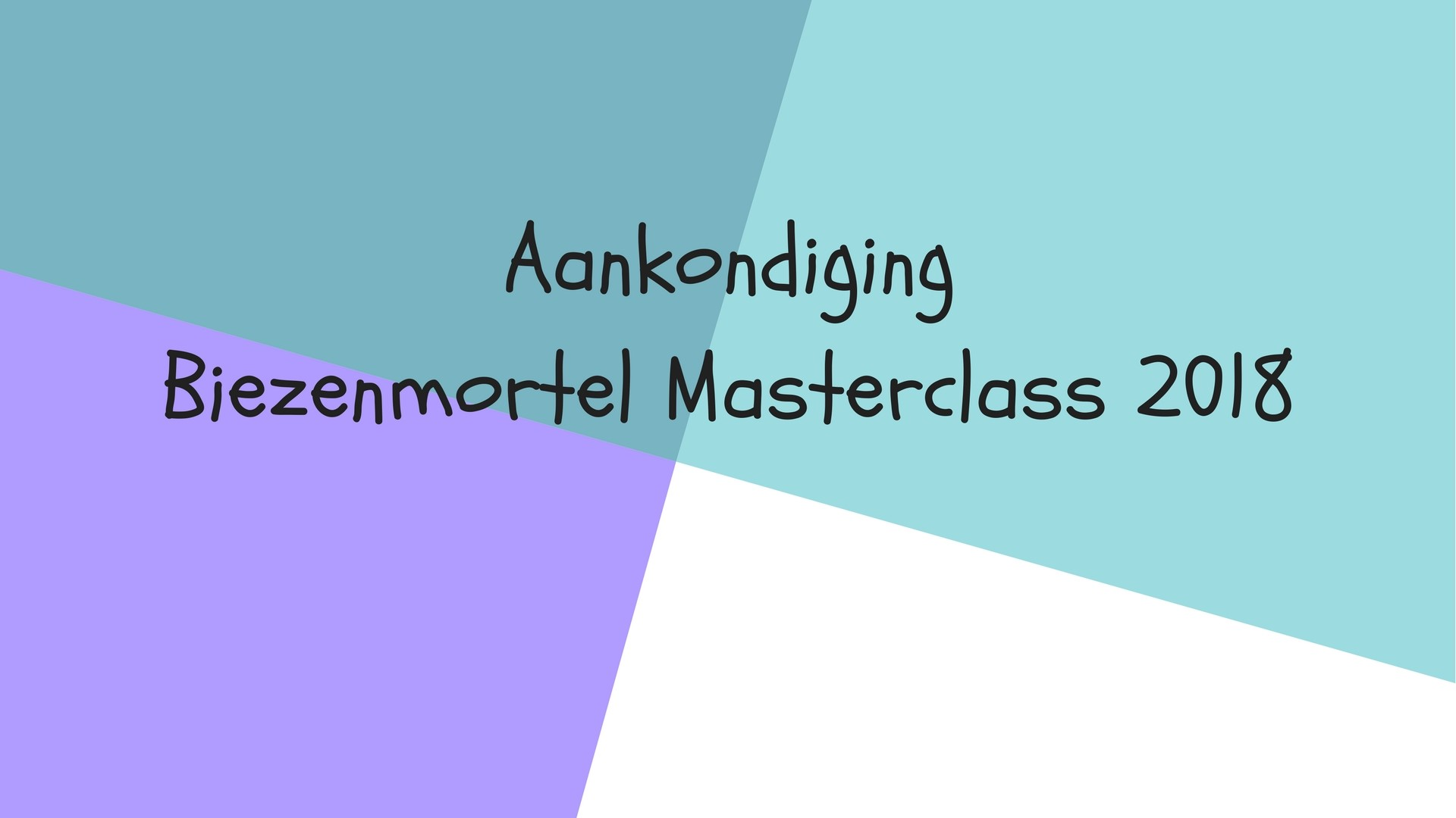 Biezenmortel Masterclass 2018