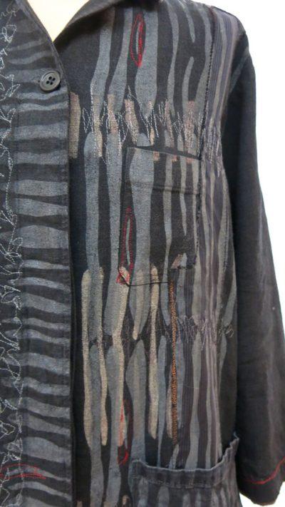 d.wedderburn ragments jacket black